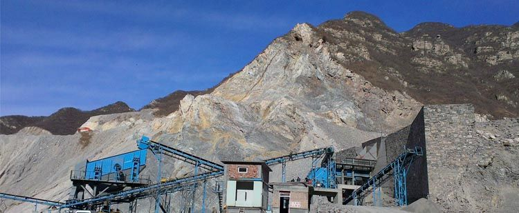 时产600-800吨石灰石生产线